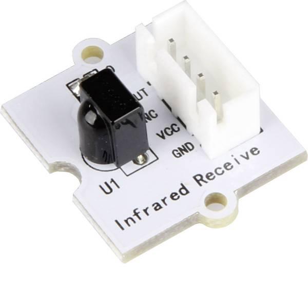 Moduli e schede Breakout per schede di sviluppo - Scheda mini con ricevitore a infrarossi Linker Kit LK-IRRECEI pcDuino, Raspberry Pi® A, B, B+, Arduino -
