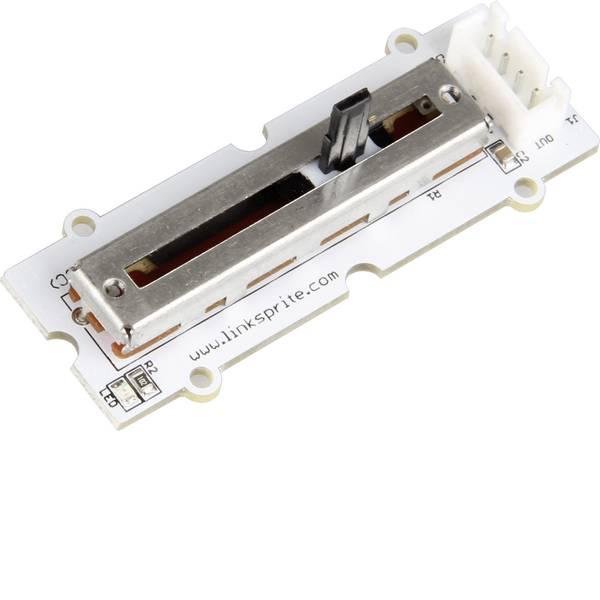 Moduli e schede Breakout per schede di sviluppo - Scheda di espansione Linker Kit potenziometro a scorrimento LK-potenziometro2 pcDuino, Raspberry Pi® A, B, B+, Arduino -