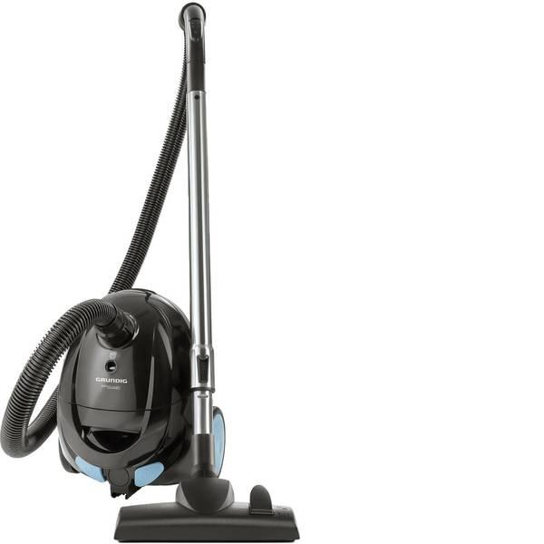 Aspirapolveri - Grundig VCC4350A Aspirapolvere con sacco 700 W Nero, Blu chiaro -