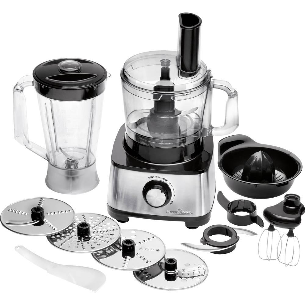 Robot da cucina Profi Cook PC-KM 1063 1200 W Nero - Argento in ...