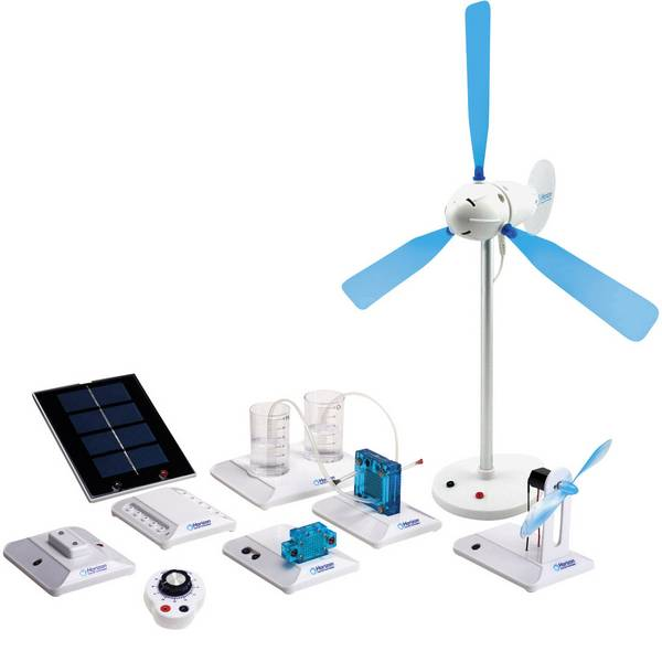 Kit esperimenti e pacchetti di apprendimento - Kit per esperimenti Horizon Renewable Energy Science Education Set FCJJ-37 da 12 anni -