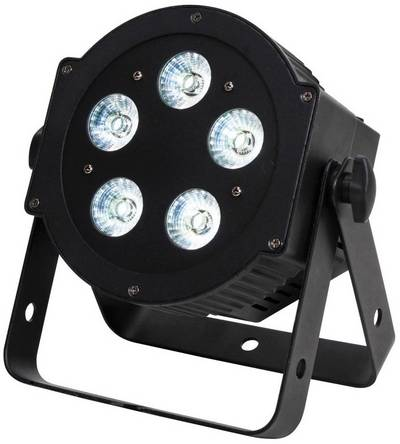 Faretto PAR LED ADJ 5P HEX Numero di LED: 5 x 10 W Nero