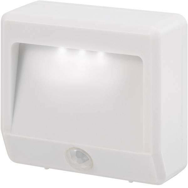 Luci notturne - Renkforce Girona EMN404PIR Luce notturna LED con sensore di movimento Rettangolare LED Bianco freddo Bianco -