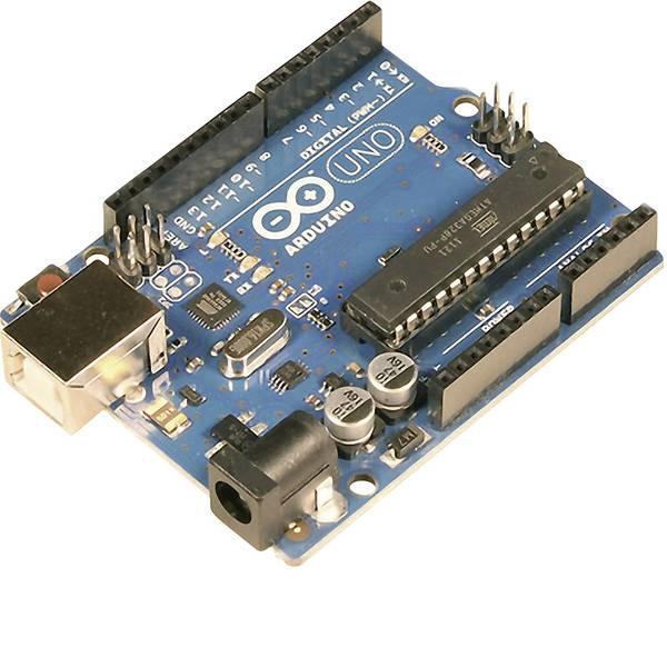 Kit e schede microcontroller MCU - Arduino Board Uno Rev3 - Versione DIP ATMega328 -