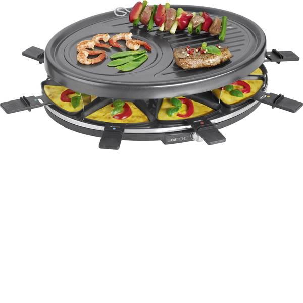Raclette - Clatronic RG 3517 Raclette 8 vaschette Nero -