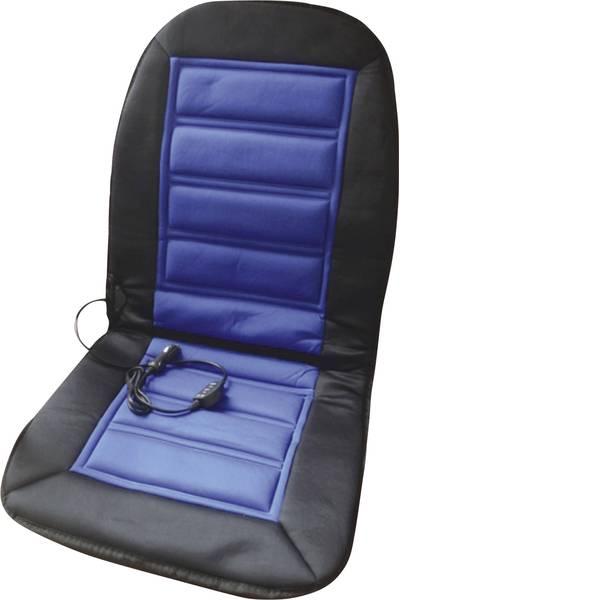 Coprisedili riscaldati e rinfrescanti per auto - Cuscinetto riscaldante HP Autozubehör 12 V 2 livelli di calore Nero-Blu -