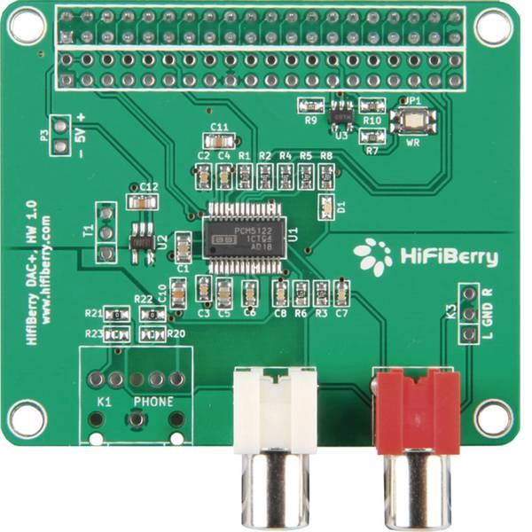 Shield Arduino e HAT Pi - HiFiBerry Scheda di espansione per Raspberry Pi® B+ RB-Hifiberry2 -