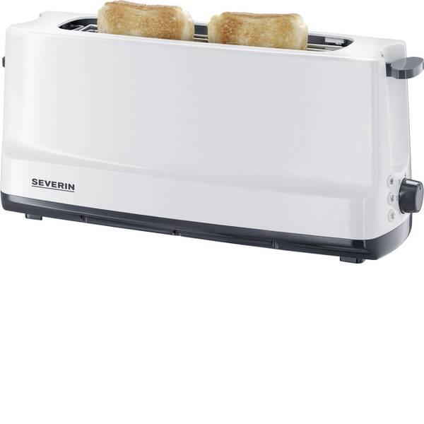 Tostapane - Severin AT 2232 Tostapane lungo Con griglia scaldabriosche integrata Bianco -