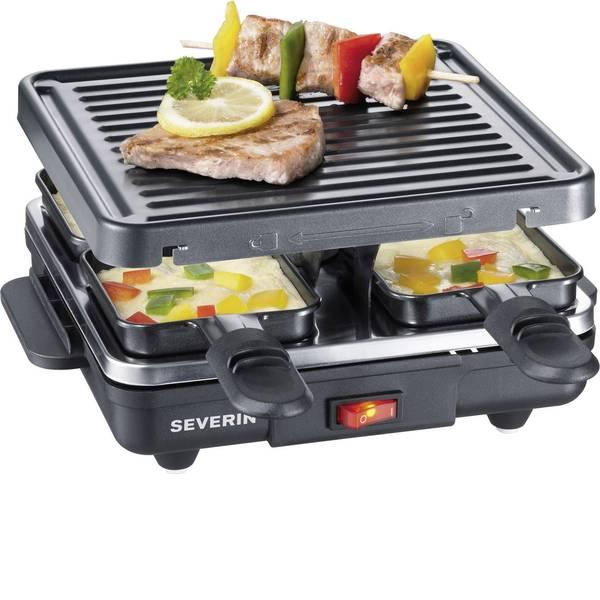 Raclette - Severin RG 2686 Raclette 4 vaschette Nero -