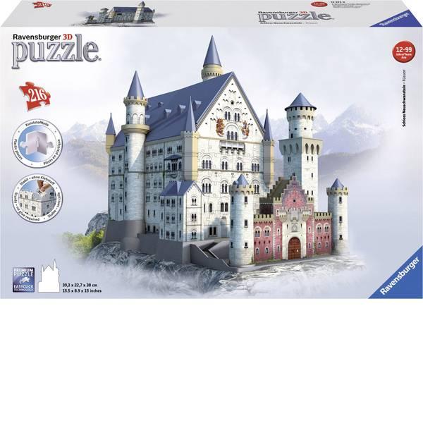 Puzzle - Ravensburger Puzzle 3D Neuschwanstein lucchetto -