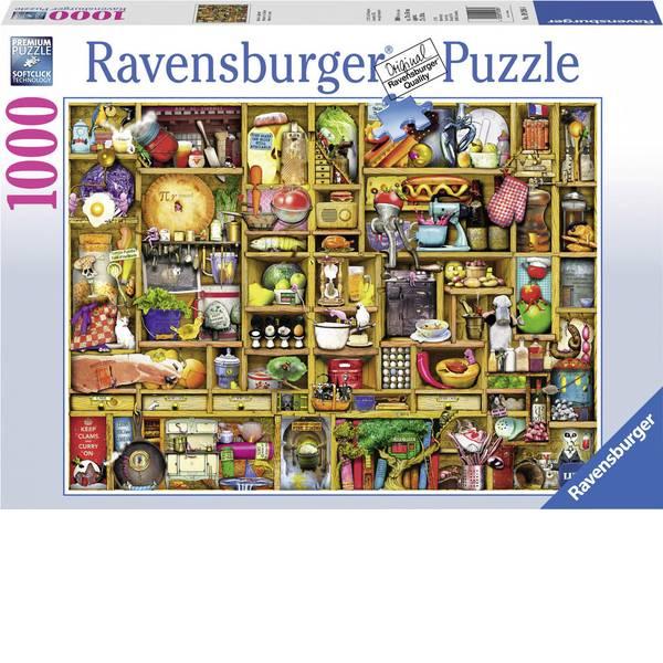 Puzzle - Ravensburger Puzzle Kurioses scaffale della cucina -