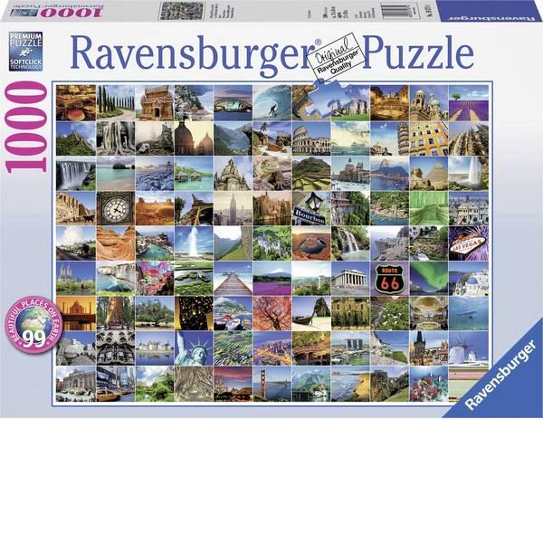 Puzzle - Ravensburger Puzzle 99 è bellissimo places on Earth -