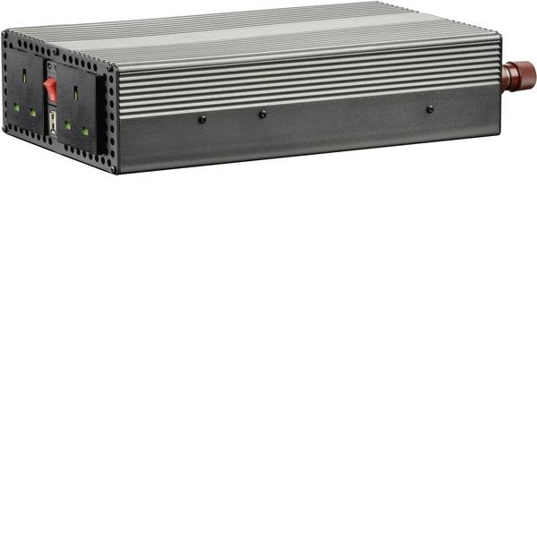 Inverter - VOLTCRAFT Inverter MSW 1200-24-UK 1200 W 24 V/DC - 230 V/AC -