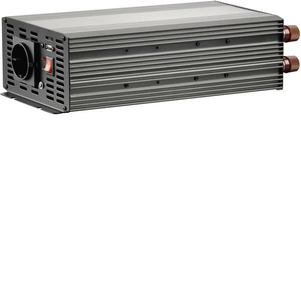 Inverter - Inverter VOLTCRAFT MSW 2000-12-G 2000 W 12 V/DC 10.5- 15 V/DC Morsetto a vite Presa contatti protetti -