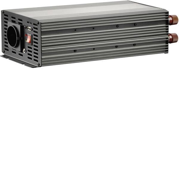 Inverter - Inverter VOLTCRAFT MSW 2000-24-F 2000 W 24 V/DC 21 - 30 V/DC Morsetto a vite Presa F -