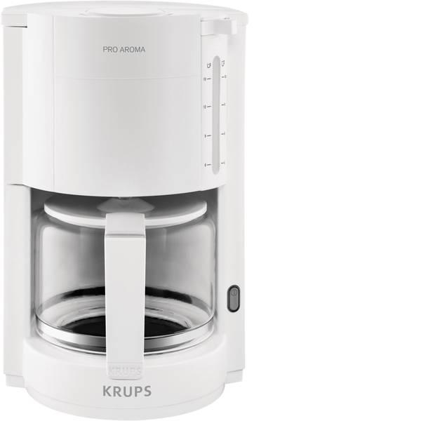 Macchine dal caffè con filtro - Krups ProAroma Macchina per il caffè Bianco Capacità tazze=15 -