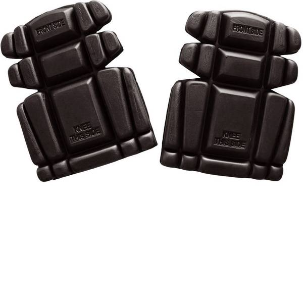Ginocchiere - Ginocchiere in schiuma PE DIN EN 14404 Livello di protezione: 1 L+D Profi-X 2482-SW Nero 1 Paia -