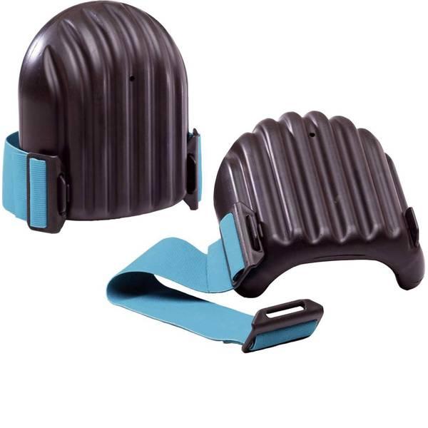 Ginocchiere - Ginocchiere plastica DIN EN 14404 Livello di protezione: 2 2483 Nero, Blu 1 Paia -