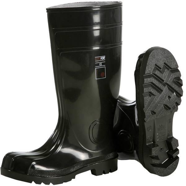 Scarpe antinfortunistiche - Stivali di sicurezza S5 Misura: 39 Nero L+D Black Safety 2491 1 Paia -