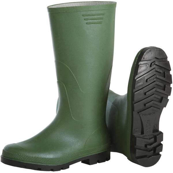 Scarpe antinfortunistiche - Stivali di sicurezza Misura: 40 Verde L+D Verdo 2496 1 Paia -