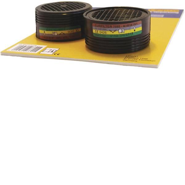 Filtri per protezione delle vie respiratorie - L+D Upixx Eurfilter 26238 Filtro-livello protezione: ABEK1 2 pz. -