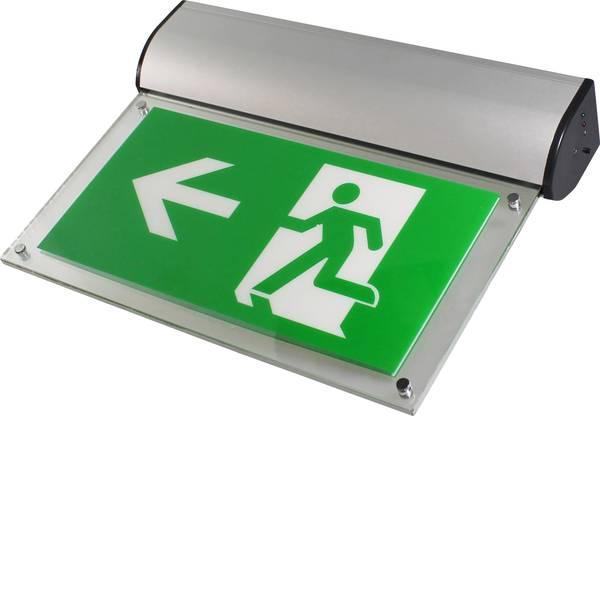 Segnaletica per uscite d`emergenza - Sensorit Indicazione via di fuga illuminata Montaggio a soffitto, Montaggio a parete -