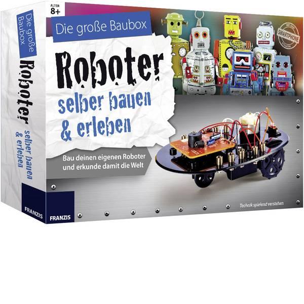 Kit esperimenti e pacchetti di apprendimento - Pacchetto di apprendimento Franzis Verlag Roboter selber bauen & erleben 65267 da 8 anni -