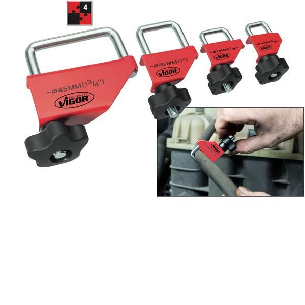 Strumenti speciali per auto - Kit collari per flessibili Vigor V3381 -