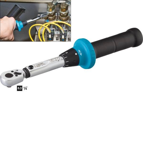 Chiavi dinamometriche - Hazet 5107-2CT 5107-2CT Chiave dinamometrica con cricchetto reversibile 1/4 (6.3 mm) 1 - 9 Nm -