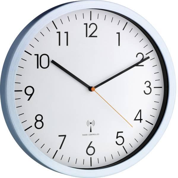 Orologi da parete - TFA 60.3517.55 Radiocontrollato Orologio da parete 30.5 cm x 4.5 cm Alluminio (opaco) -