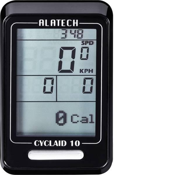 Computer per biciclette - Alatech Cyclaid 10 Ciclocomputer senza fili Bluetooth -