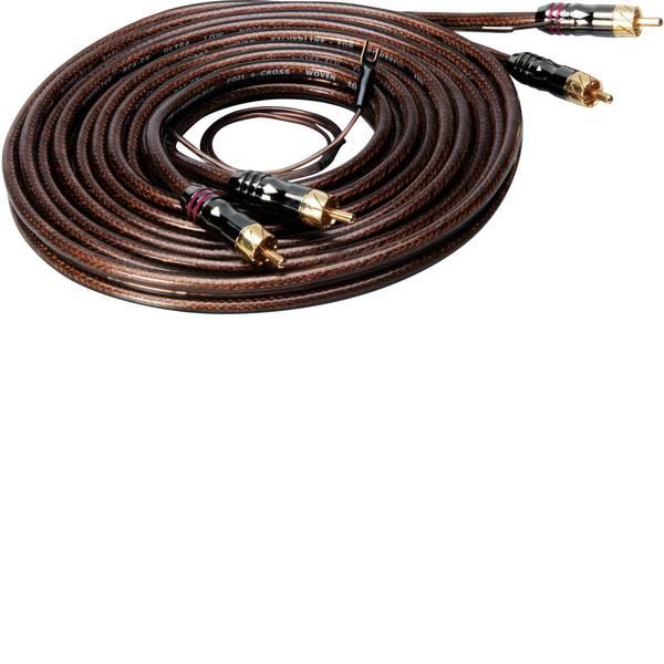 Cavi e connettori RCA HiFi per auto - Cavo RCA 3.50 m Sinuslive CX-35 [2x Spina RCA - 2x Spina RCA] -