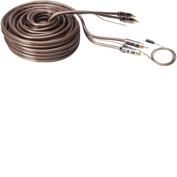 Cavi e connettori RCA HiFi per auto - Cavo RCA 6.50 m Sinuslive CX-65 [2x Spina RCA - 2x Spina RCA] -