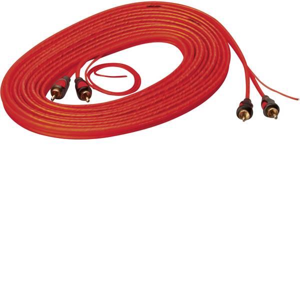 Cavi e connettori RCA HiFi per auto - Cavo RCA 6.50 m Sinuslive CK-65 [2x Spina RCA - 2x Spina RCA] -