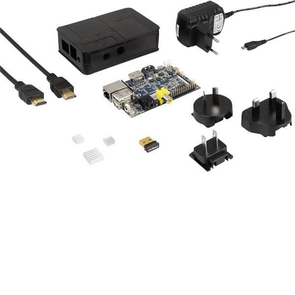 Schede di sviluppo e Single Board Computer - Banana Pi BPI-M1 Advanced Set 1 GB 2 x 1.0 GHz incl. chiavetta WLAN, incl. custodia, incl. cavo di alimentazione, incl.  -