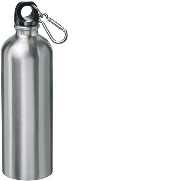 Thermos e tazze termiche - Bottiglia termicaCon moschettone MATO;Acciaio inox (spazzolato), Nero;0.75 l;4208 -