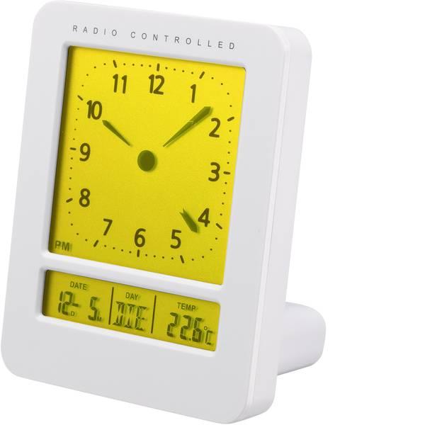 Sveglie - Renkforce KW-9270 Radiocontrollato Sveglia Bianco Tempi di allarme 2 -