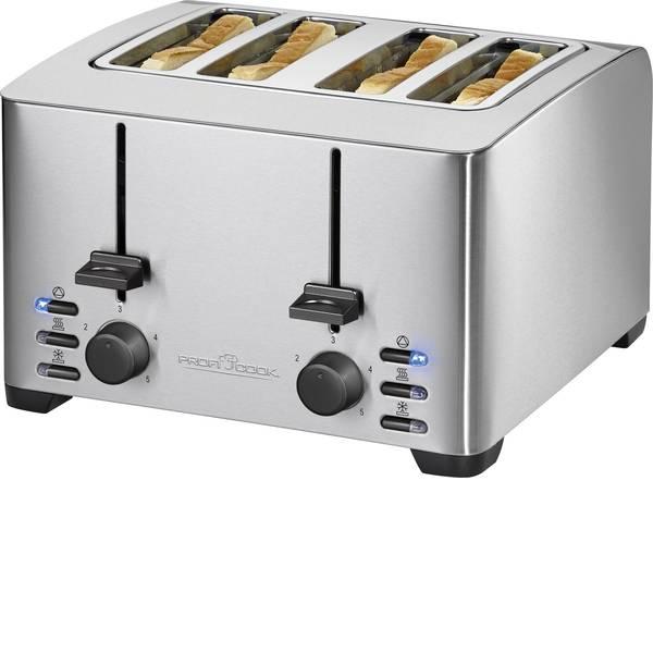 Tostapane - Profi Cook PC-TA 1073 Tostapane Con griglia scaldabriosche Acciaio -