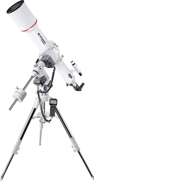 Telescopi - Bresser Optik Messier AR-102/1000 EXOS-2 GOTO Telescopio ottico Equatoriale Acromatico, Ingrandimento 38 fino a 200 x -