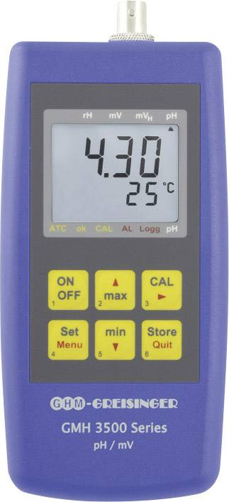 Greisinger GMH 3551 Misuratore combinato pH, Redox (ORP), Temperatura