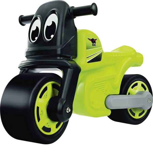 Auto a spinta - BIG racing bike verde/nero -