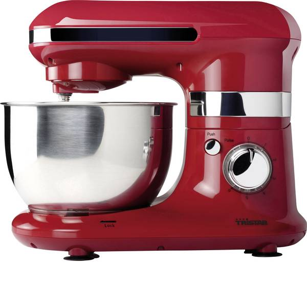 Robot da cucina multifunzione - Tristar MX-4170 Robot da cucina 600 W Acciaio, Rosso -