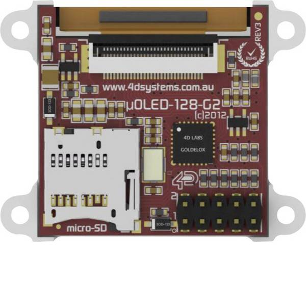 Kit e schede microcontroller MCU - 4D Systems Scheda di sviluppo SK-128-G2 -