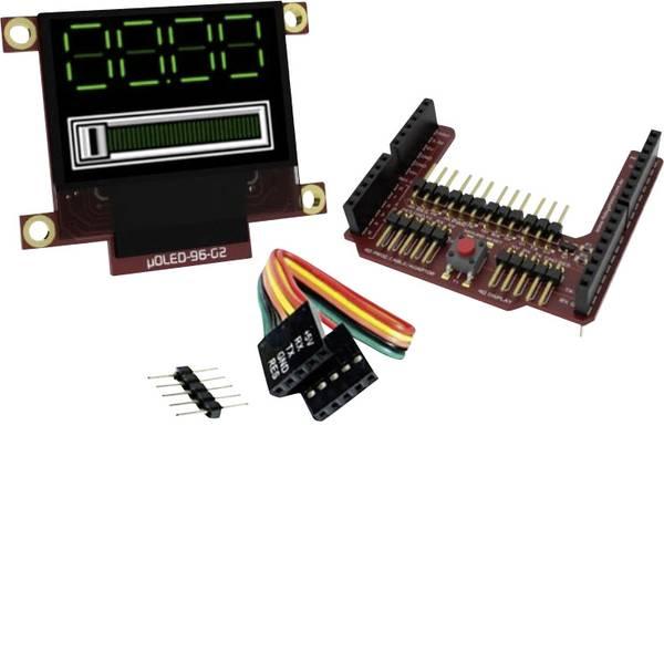 Kit e schede microcontroller MCU - 4D Systems Scheda di sviluppo uOLED-96-G2-AR -
