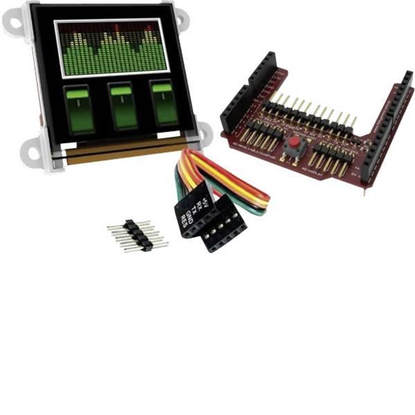 Kit e schede microcontroller MCU - 4D Systems Scheda di sviluppo uOLED-128-G2-AR -