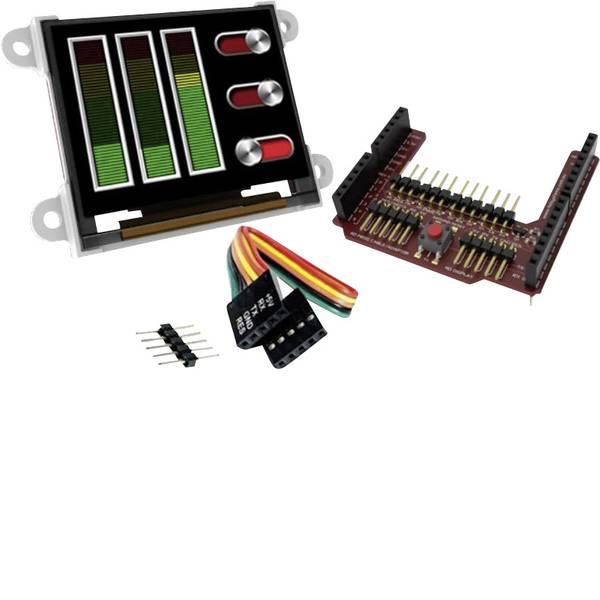 Kit e schede microcontroller MCU - 4D Systems Scheda di sviluppo uOLED-160-G2-AR -