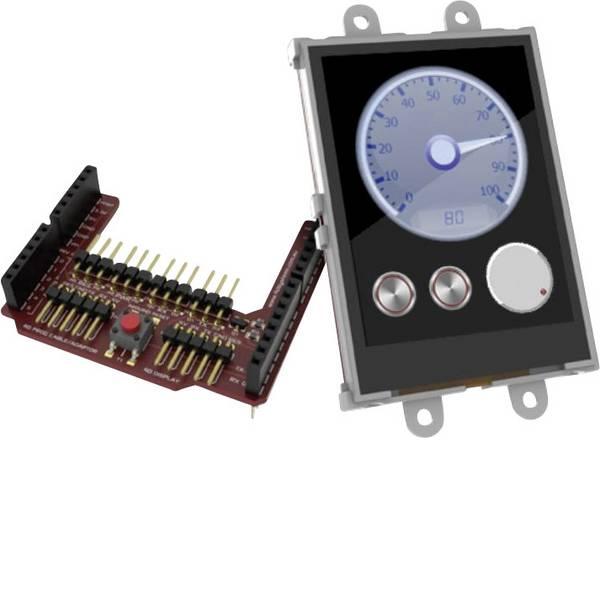 Kit e schede microcontroller MCU - 4D Systems Scheda di sviluppo uLCD-24PTU-AR -