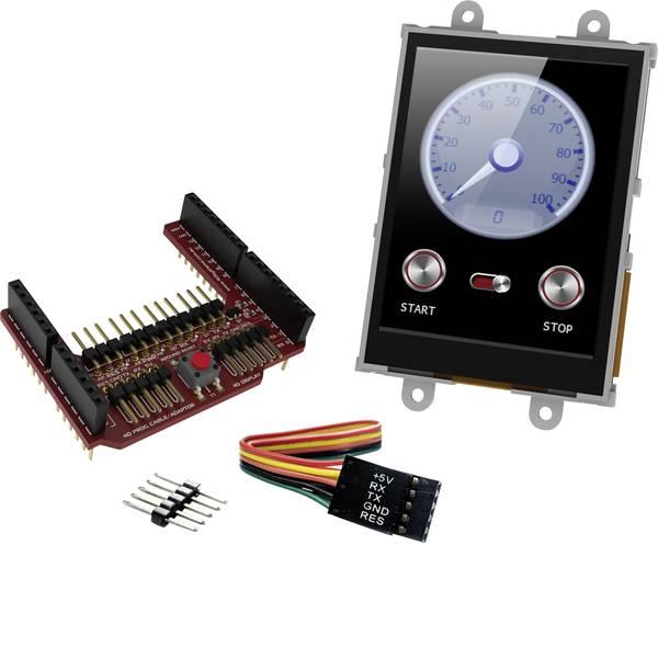Kit e schede microcontroller MCU - 4D Systems Scheda di sviluppo uLCD-28PTU-AR -