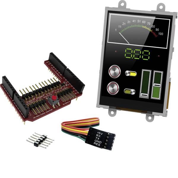 Kit e schede microcontroller MCU - 4D Systems Scheda di sviluppo uLCD-32PTU-AR -