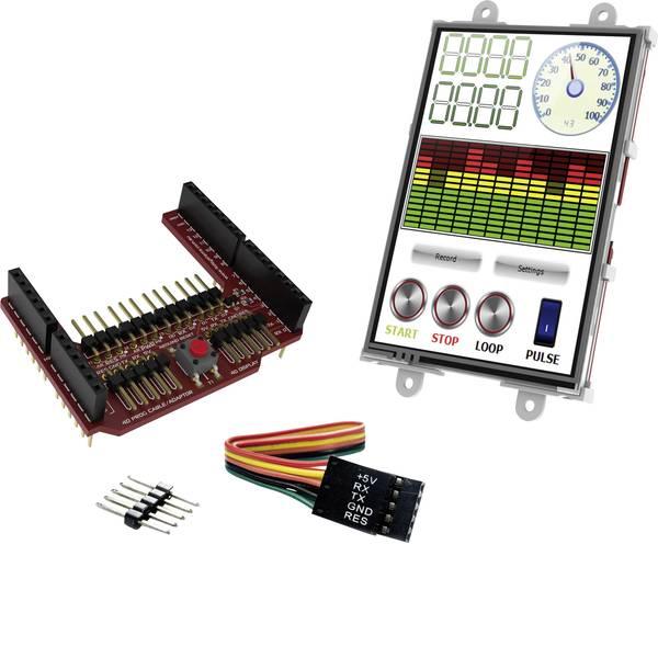Kit e schede microcontroller MCU - 4D Systems Scheda di sviluppo uLCD-35DT-AR -